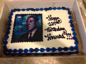 Lovecraft Birthday Cake