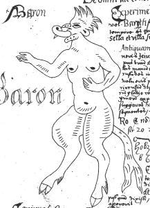 Baron, Folger V.b.26.  Property of the Folger Shakespeare Library.